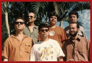 Grupo Aero: Emanuel Messias, Agenor Ladeira, Rafael, Chiquinho, Djê, Osmar e Luiz Paulo